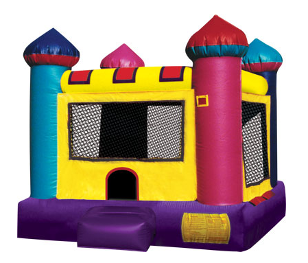 bounce house mini castle