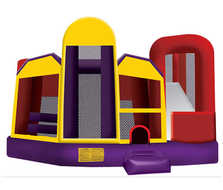 Ninja 5 in 1 inflatable bounce house